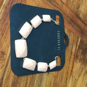 Forever 21 Peach statement necklace